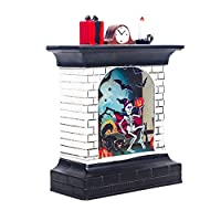 RENKUNDE ハロウィンカボチャライトルーム装飾LEDランタンパーティーホーム小道具クリエイティブ暖炉雰囲気レイアウト小道具 装飾アイテム (Emitting Color : A)