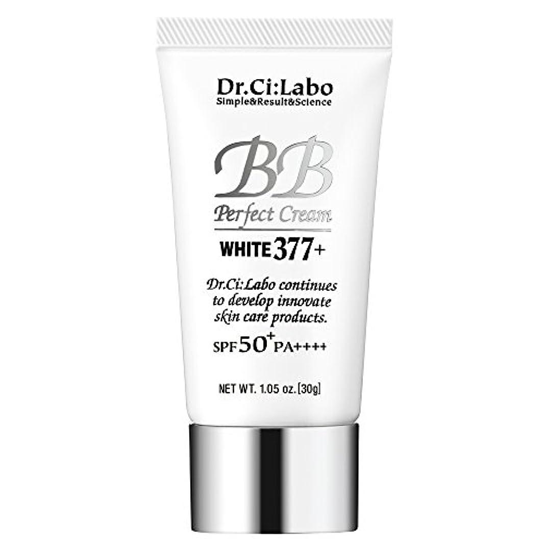 社会学ビンが欲しいドクターシーラボ BBパーフェクトクリーム ホワイト377+ 30g 多機能ファンデーション 化粧下地
