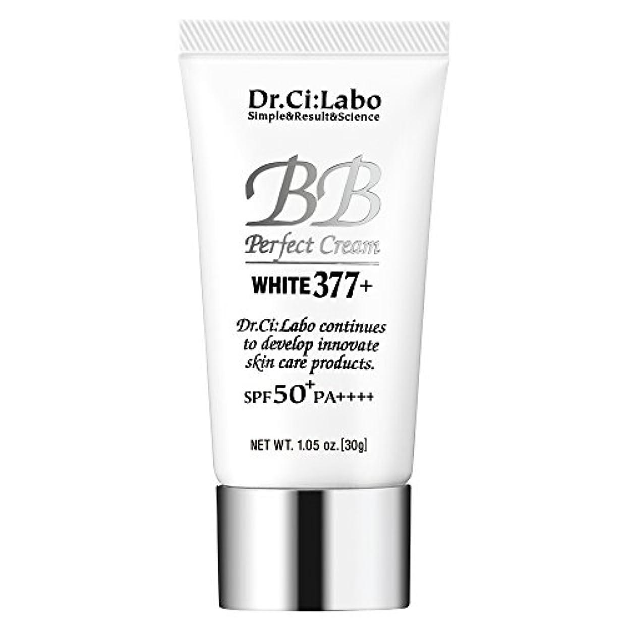 抽選光沢のある暴露するドクターシーラボ BBパーフェクトクリーム ホワイト377+ 30g 多機能ファンデーション 化粧下地
