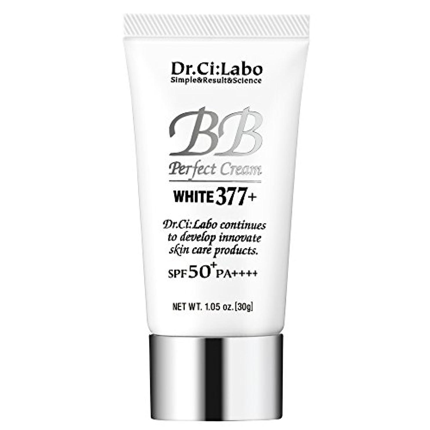 影響力のあるアクティビティ散るドクターシーラボ BBパーフェクトクリーム ホワイト377+ 30g 多機能ファンデーション 化粧下地