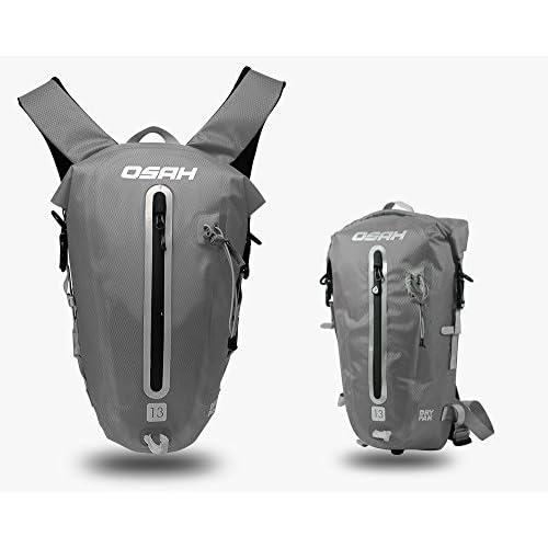 CYCLINGNET 防水(IPX6)パック DRY PAK バックパック ロードバイク 自転車 サイクリング用 (B14601-13L-GRAY)