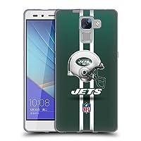 オフィシャル NFL ヘルメット ニューヨーク・ジェッツ ロゴ ソフトジェルケース Huawei Honor 7