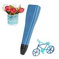 3Dプリントペン LESHP スピード調整機能 ・温度調整機能付き 立体絵画 子供へのプレゼント おもちゃ 軽量設計 知育 おもちゃ DIY