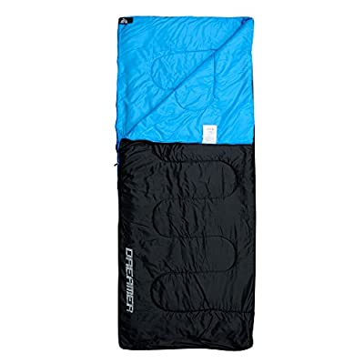 Rectangular Sleeping Bag for Backpacking, Camping, Or Hiking - 190 x 75 cm