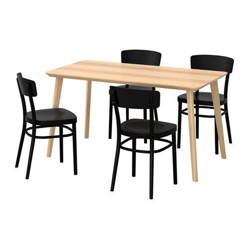 LISABO リーサボー/IDOLF イードルフ テーブル&チェア4脚
