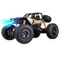 LIUFS-toys 子供用 おもちゃリモコン 車 四輪駆動 レーシングモデル おもちゃ (色: オレンジ、サイズ: 1:10充電ボード)