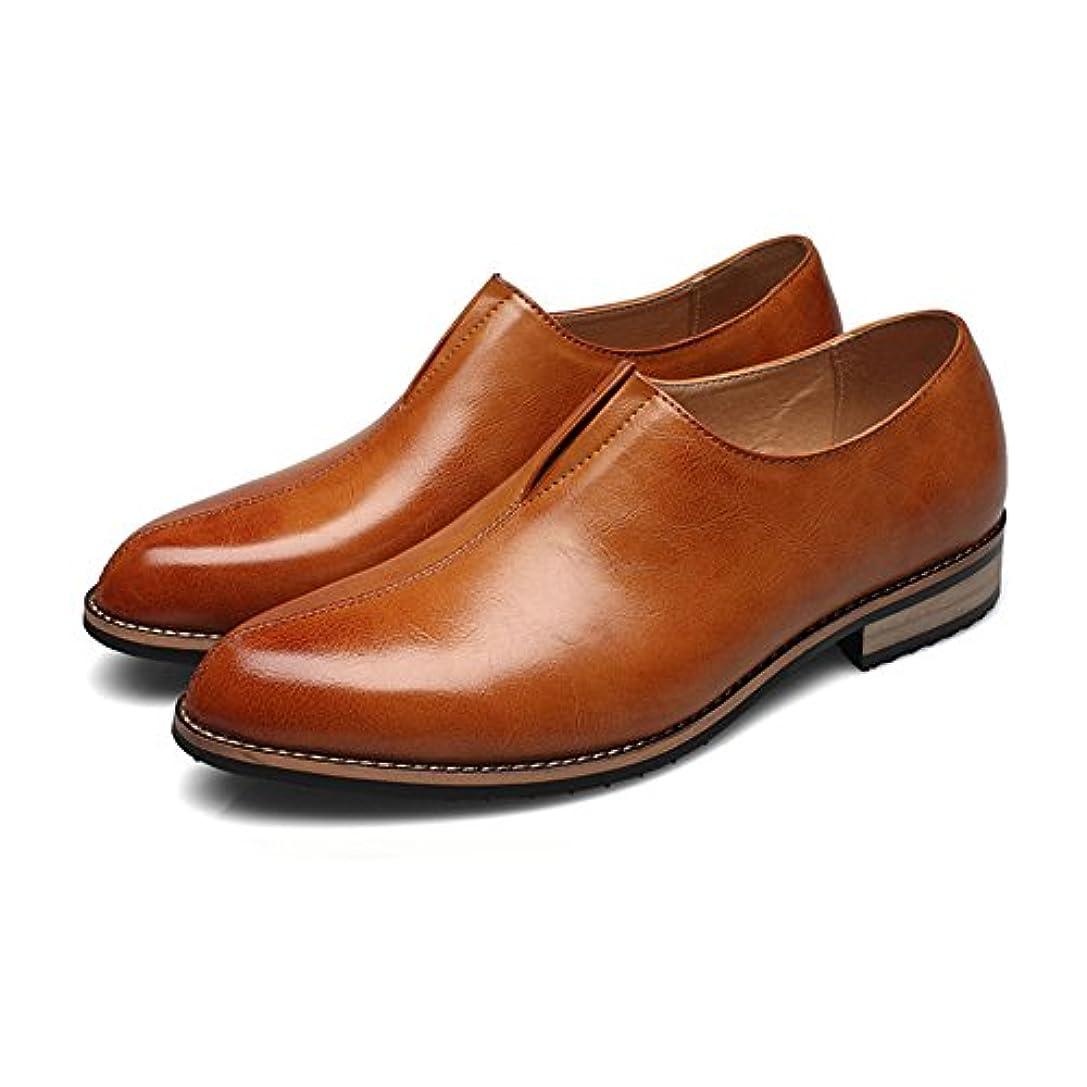 略奪アルミニウム突き出すビジネスシューズ 革靴 メンズ  アンクルシューズ スムーズPUレザー  アッパー スリッポン 通気性 フォーマル オックスフォードシューズ カジュアル