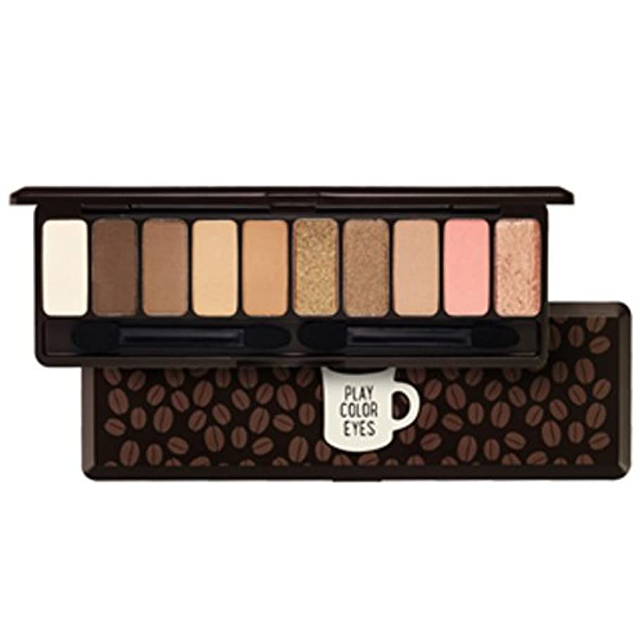 ETUDEHOUSE[エチュードハウス] プレー カラーアイズ  インザカフェ 10色 アイシャドー パレット Play color eyes in the cafe(海外直送品)