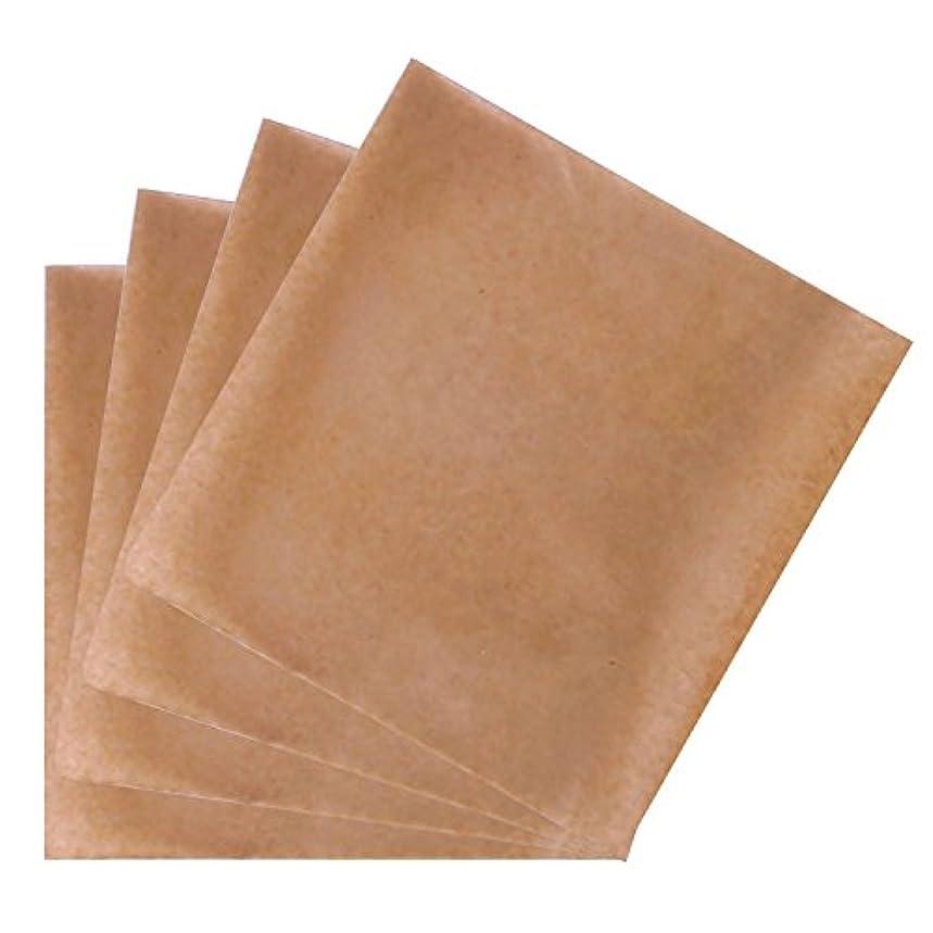 スマイル含意スライムゴシレ [Gosear] 200個 18.5 x 18.5 cm 使い捨て羊皮紙紙ベーキングシートのクッキーピザパンチップ
