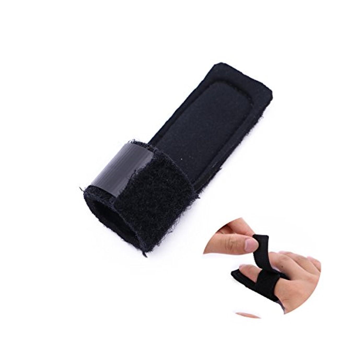 非常に怒っています合体だらしないSUPVOX 指の添え木マレット指の支柱の引き金のための骨折の接合箇所の添え木プロテクター