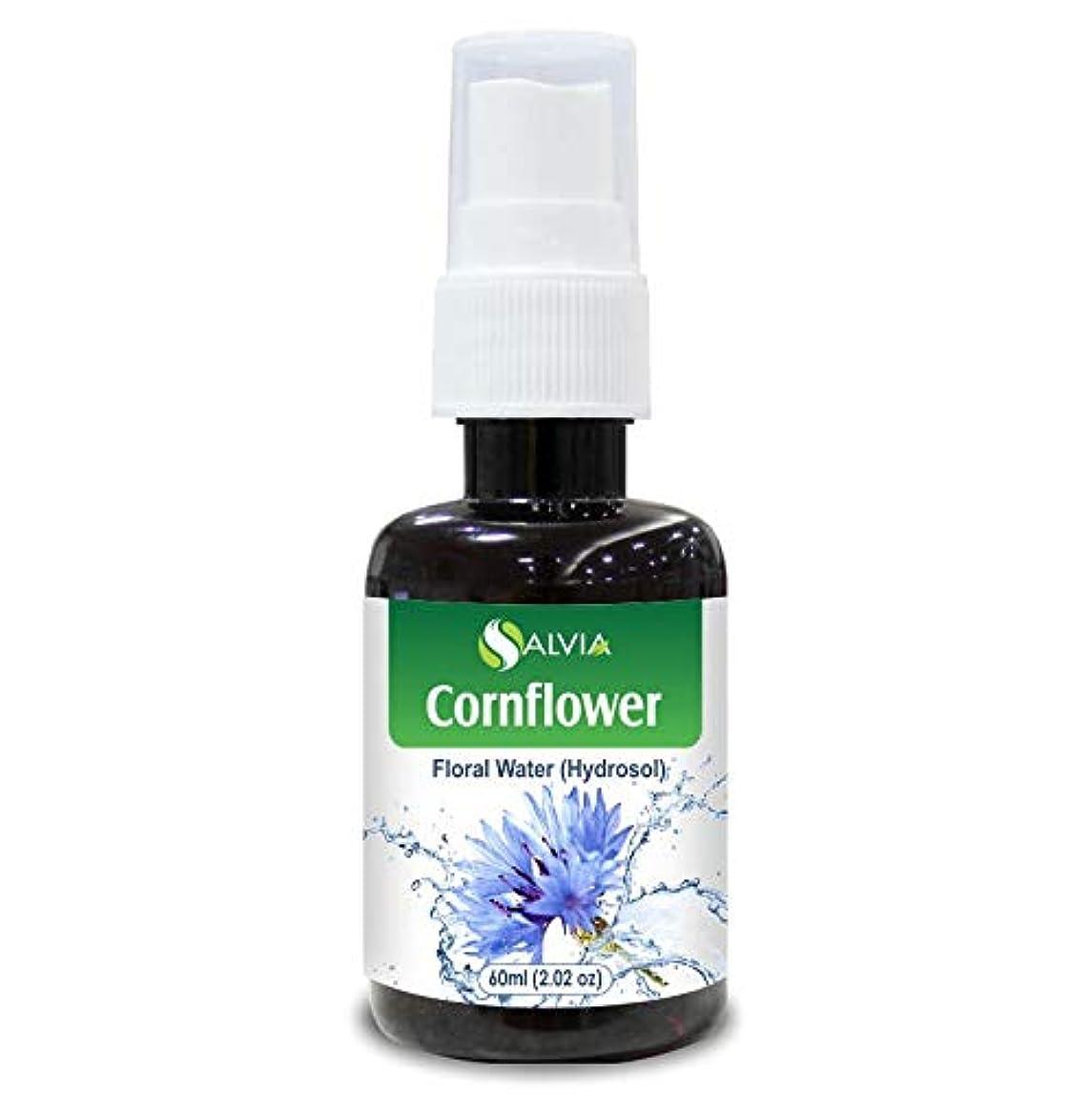 チーターいちゃつく手数料Cornflower Floral Water 60ml (Hydrosol) 100% Pure And Natural