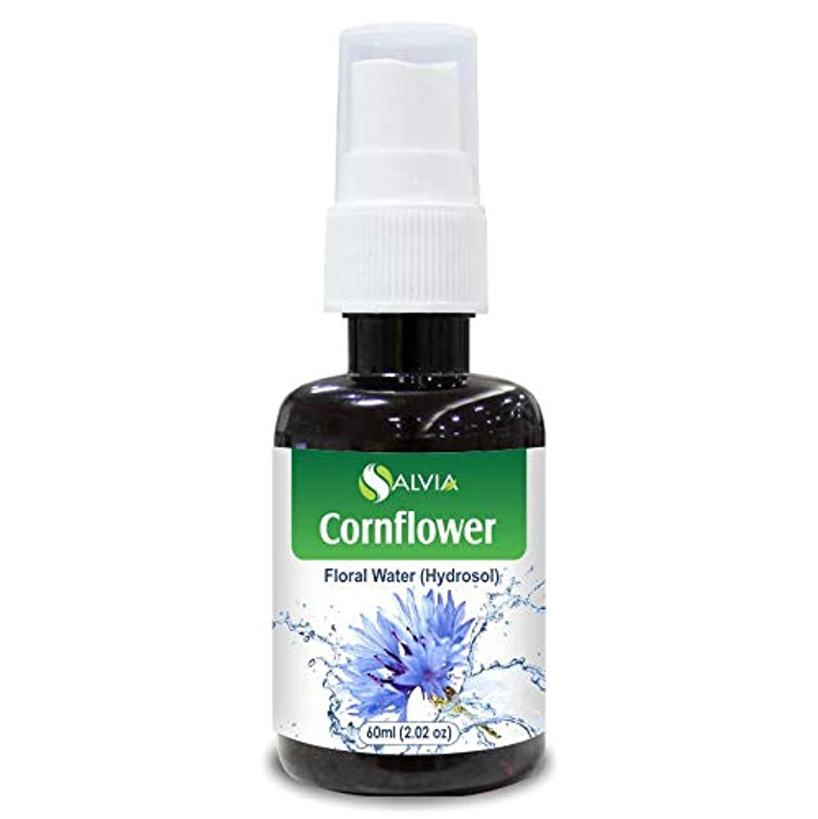 特異な元気な知覚できるCornflower Floral Water 60ml (Hydrosol) 100% Pure And Natural