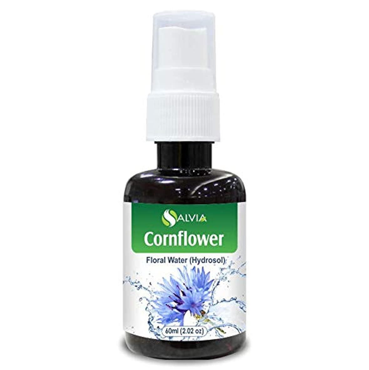 掘るベアリング仕えるCornflower Floral Water 60ml (Hydrosol) 100% Pure And Natural