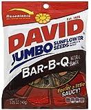 【ハワイ直送品】 DAVID ひまわりの種 ジャンボサイズ バーベキュー味 149g David Seeds Jumbo Sunflower Barbeque Flavor 5.25oz