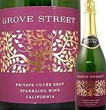 グローヴ・ストリート・プライベート・キュベ・ブリュット アメリカ 白スパークリングワイン 750ml やや甘口