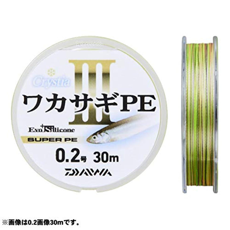 気候エキスパート勇者ダイワ ライン クリスティアワカサギPE III 30m 0.2号
