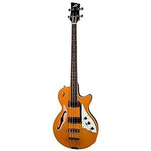 Duesenberg セミアコベース Starplayer Bass Trans-Orange DBB-TO