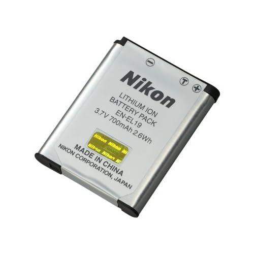 Nikon Li-ionリチャージャブルバッテリーEN-EL19
