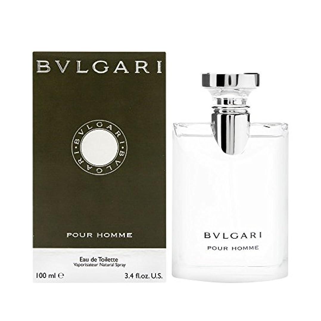 識字咲く迫害するブルガリ プールオム オードトワレ EDT 100mL 香水