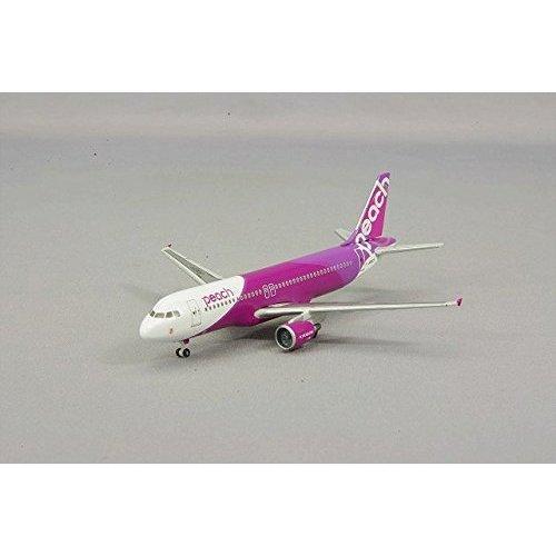 クロスウイング ホーガン製 1/500 エアバス A320-200 ピーチ アビエーション JA802P