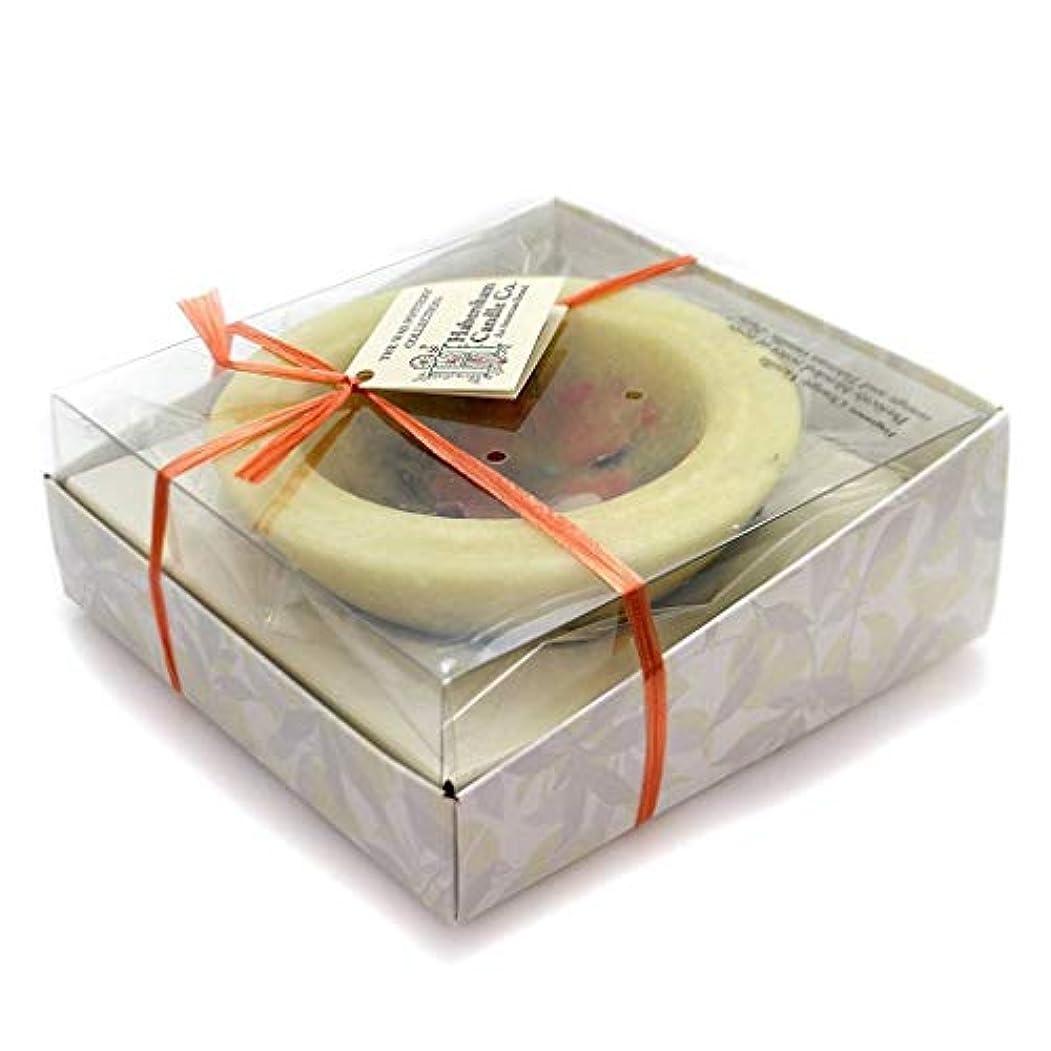 周術期広く心臓Habersham Candles ORANGE VANILLA VESSEL Wax Flameless Fragrance Wax Fgwxpt0296