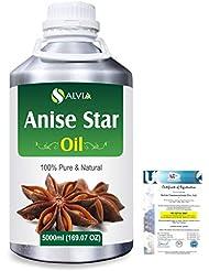 Anise Star (Illicium Verum) 100% Natural Pure Essential Oil 5000ml/169fl.oz.