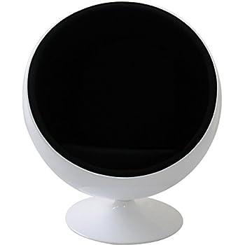ボールチェア エーロ・アールニオ デザイン ホワイト×ブラック ballchair sofa ソファ ソファー