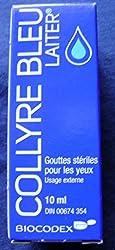 オリジナル 洗眼青 ブルーライター 点眼液 – 10ml – 新包装、同じ薬剤、米国 有効期限:長期間有効