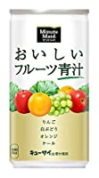 コカ・コーラ ミニッツ メイド おいしいフルーツ青汁 190g缶×30本