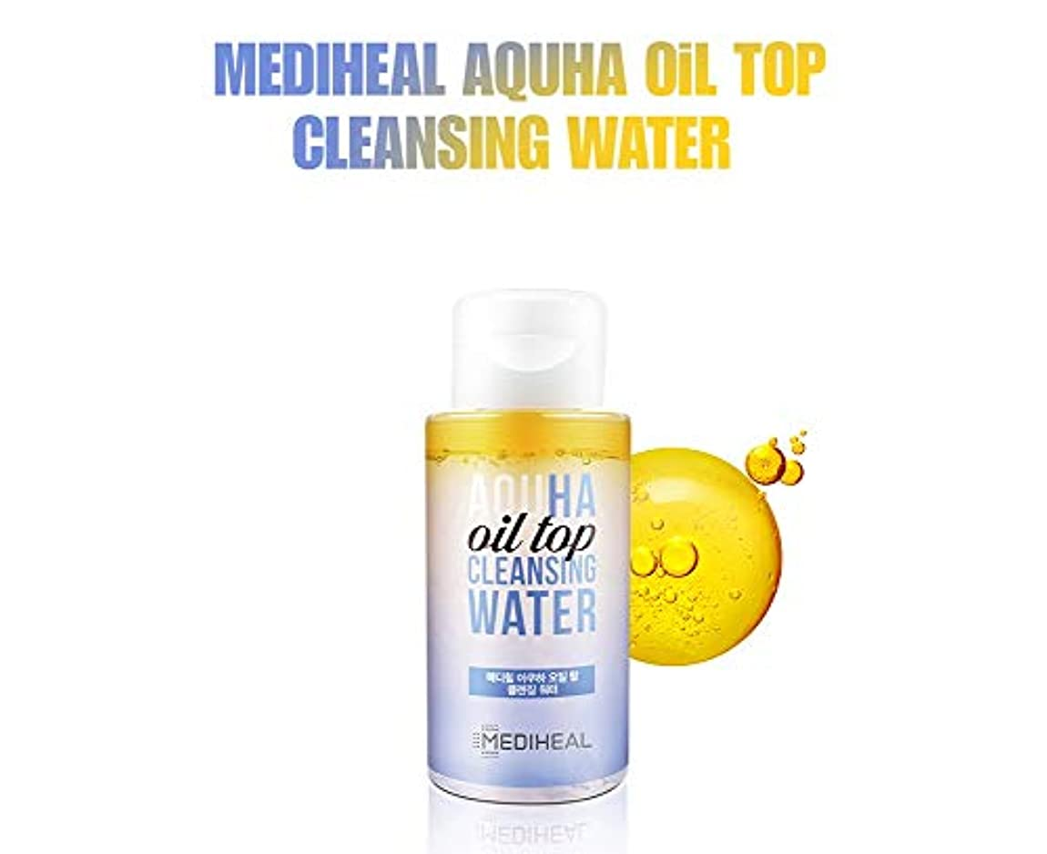 [MEDIHEAL] メディヒルアクハオイル塔クレンジングウォーター300ml / AQUHA OIL TOP CLEANSING WATER 300ml [並行輸入品]