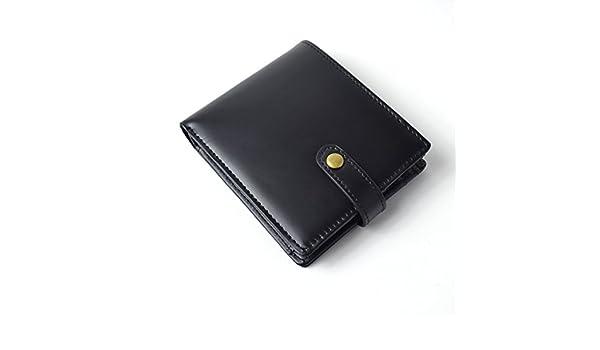 5114d7239c0a Amazon | [マージ] Merge 二つ折り財布 メンズ 馬革 牛革 クロコ型押し スナップボタン式 【MG-1740】 | 財布