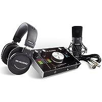 M-Audio USBオーディオインターフェイス 完全ボーカル制作セット M-Track 2x2 Vocal Studio PRO