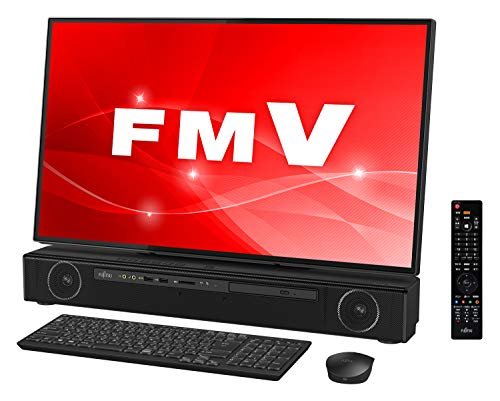 富士通 デスクトップパソコン FMV ESPRIMO FHシリーズ WF2/C3 (Windows 10 Home/27型ワイド液晶/Core i7/32GBメモリ/約512GB SSD + 約3TB HDD/Blu-ray Discドライブ/Office Home and Business 2016/オーシャンブラック/TV機能付き)AZ_WF2C3_Z012/富士通WEB MART専用モデル