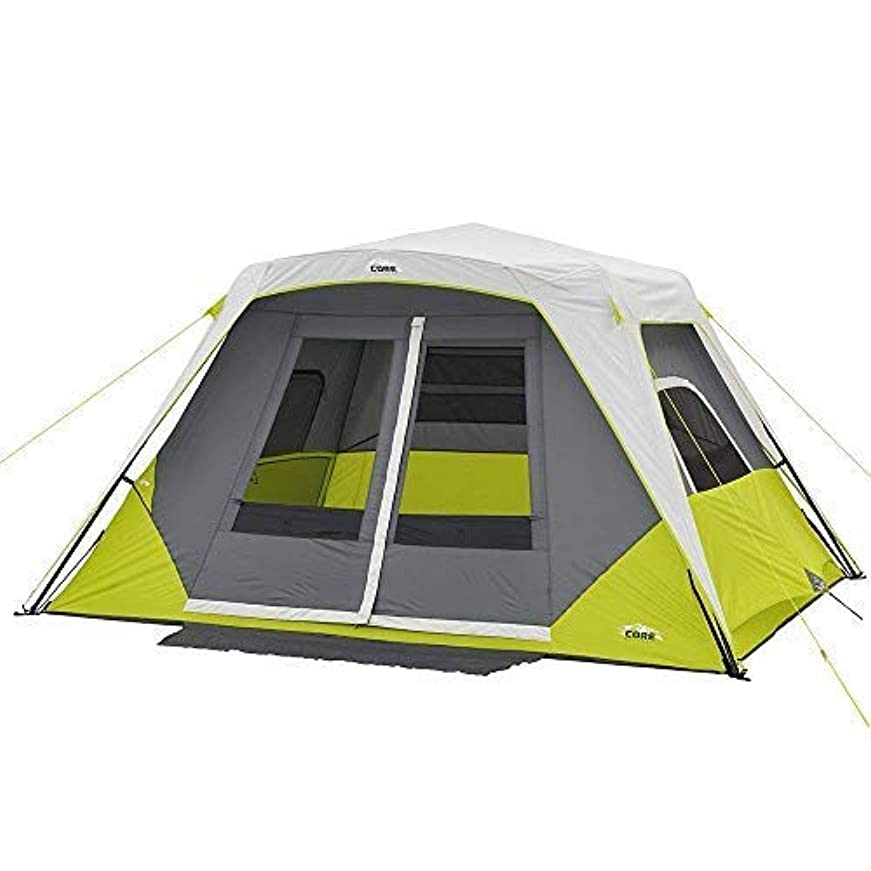 薬局吸う換気CORE 6 Person Instant Cabin Tent with Awning [並行輸入品]