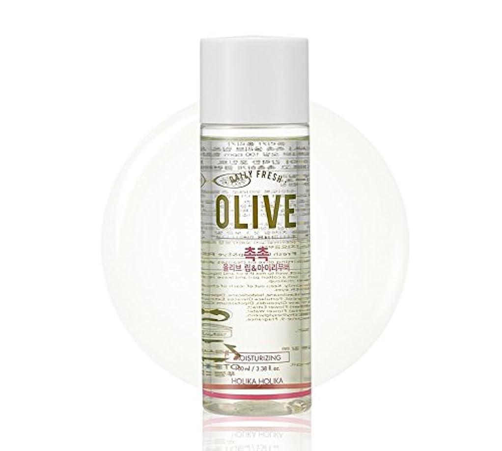 変換潮クリスチャンHolika Holika daily fresh olive lip& eye remover(moisturizing) ホリカホリカデーリーフレッシュオリーブリップアンドアイリムーバー [並行輸入品]