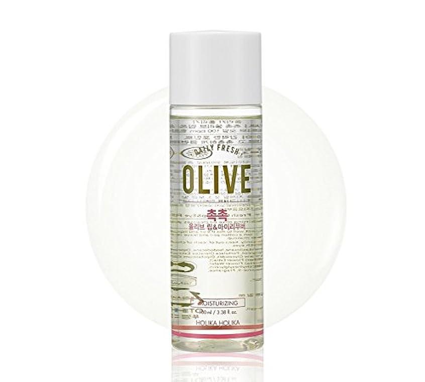 フローティング真似る起きてHolika Holika daily fresh olive lip& eye remover(moisturizing) ホリカホリカデーリーフレッシュオリーブリップアンドアイリムーバー [並行輸入品]