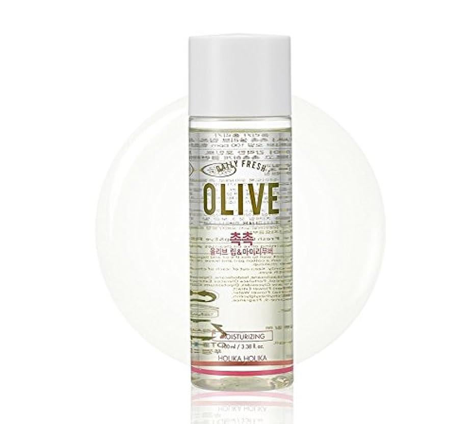 さておき粉砕する夕方Holika Holika daily fresh olive lip& eye remover(moisturizing) ホリカホリカデーリーフレッシュオリーブリップアンドアイリムーバー [並行輸入品]