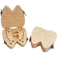 乳歯ボックス 乳歯ケース メモリアルグッズ 産毛ボックス 記録 木製 記念 出産祝い プレゼント