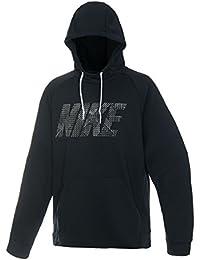 ナイキ DRI-FIT フリース GFX PO フーディ ブラック/(ホワイト) 886651 010