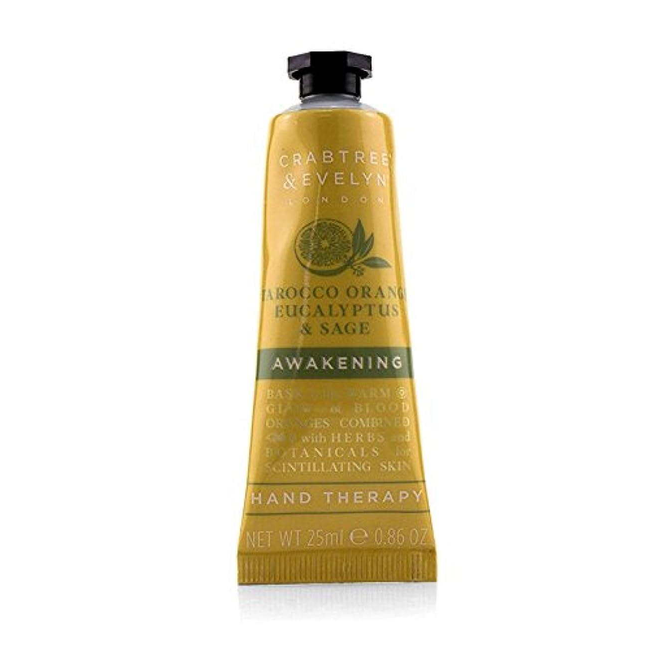 妻飢饉ドリンククラブツリー&イヴリン Tarocco Orange Eucalyptus & Sage Awakening Hand Therapy 25ml/0.86oz並行輸入品