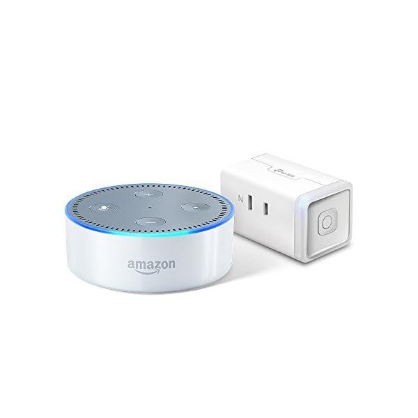 Amazon Echo Dot、ホワイト + T...の商品画像