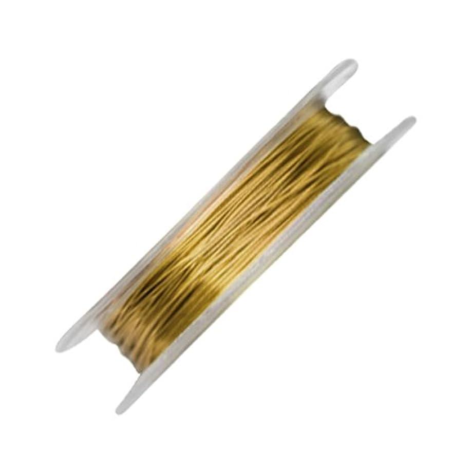 より平らな頼る肯定的Bonnail カラーワイヤー ゴールド