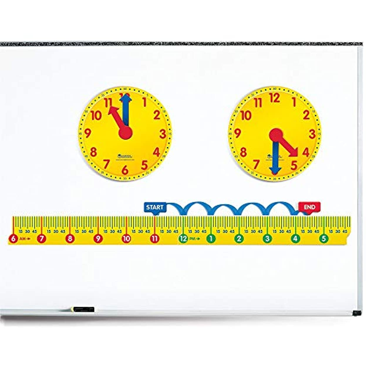 使役暗いオリエントLearning Resources Magnetic Elapsed Time Set [並行輸入品]