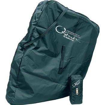OSTRICH(オーストリッチ) 輪行袋 [ロード520] ブラック リア用エンド金具(旧) 付属