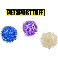 Petsport USAゴリラ強力なウルトラライトBounce Balls犬ペットフローティングトイMedium Assorted 3パック