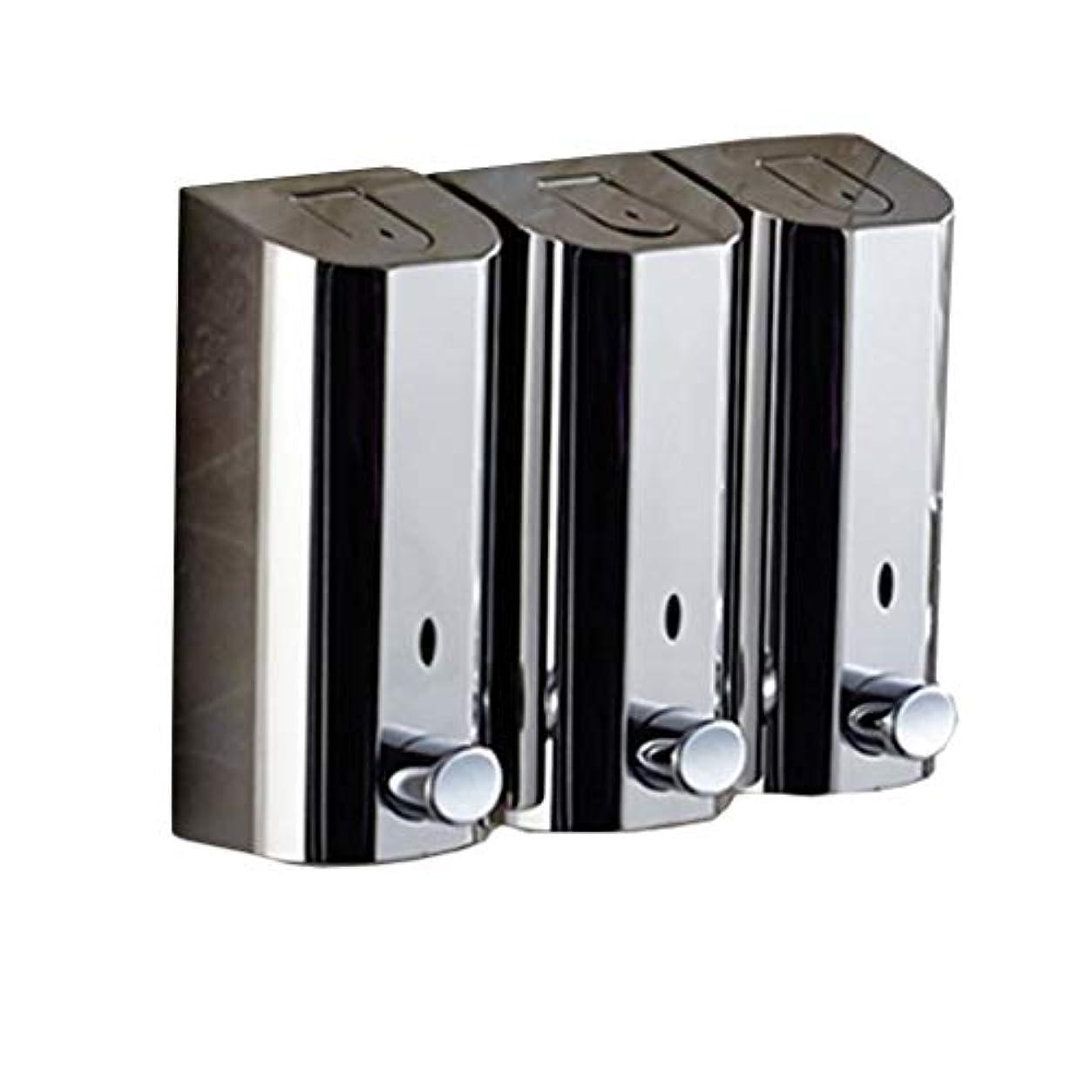 廃棄するさようなら大気Kylinssh タッチレスソープディスペンサー、500 ml * 3自動液体ディスペンサー、防水、漏れ防止、タッチレスソープディスペンサー、キッチン、バスルーム