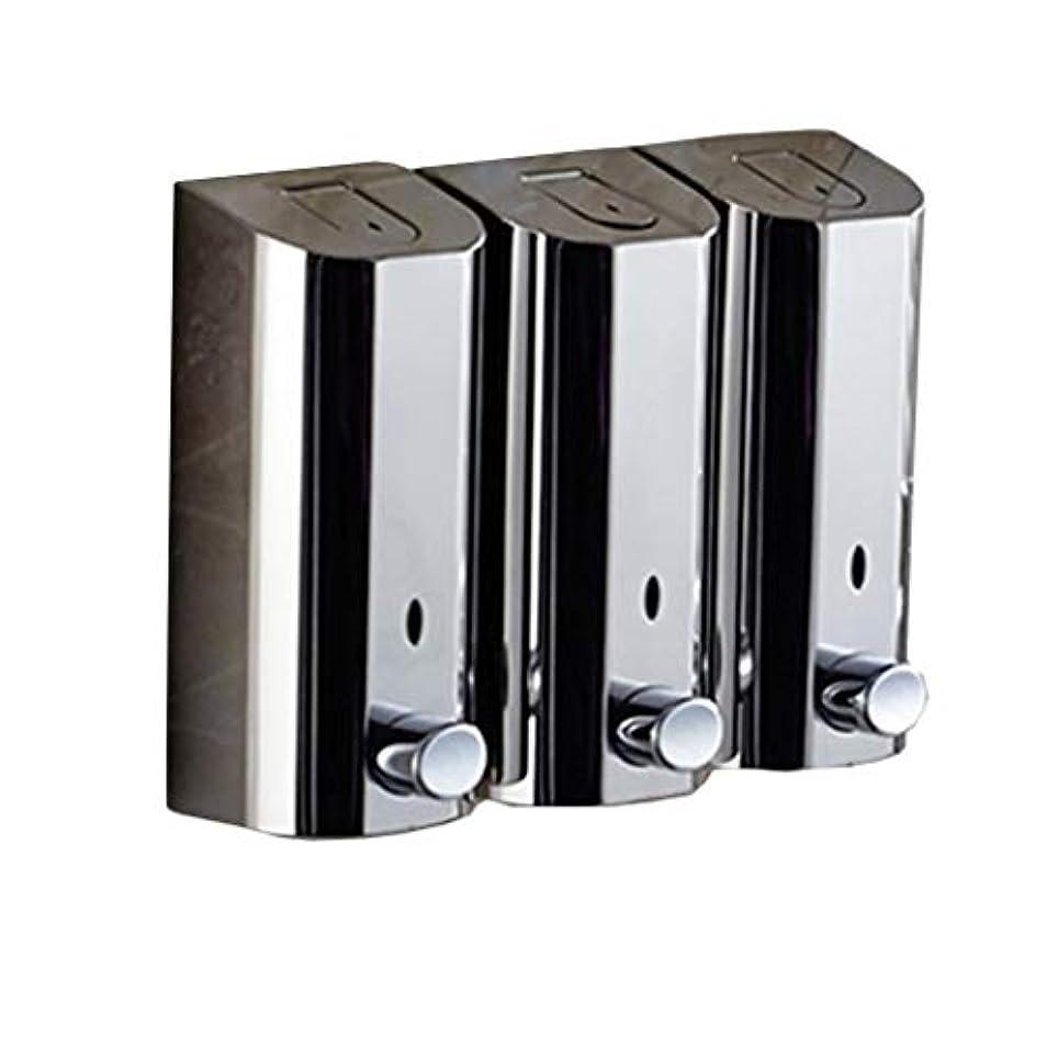 ダイアクリティカル相対サイズハムKylinssh タッチレスソープディスペンサー、500 ml * 3自動液体ディスペンサー、防水、漏れ防止、タッチレスソープディスペンサー、キッチン、バスルーム