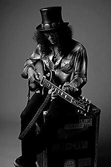 音楽写真Portrait Rock Guitarist Slash Guns Roses lv10478印刷ポスターアート 20 inch x 13 inch