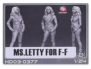 Hobby Design 1 24 Miss Letty Letty Resin Figure Hd03-0377<Japan Import