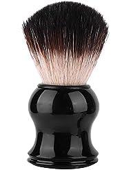 ポータブルメンズソフトヘアシェービングブラシ絶妙なハンドル髭ブラシ理髪ツール個人用および業務用シェービングに最適(3#)
